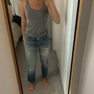 7 For All Mankind Distressed Size 28 Jeans